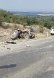 Freni Boşalan Traktör Şarampole Devrildi Açıklaması 1 Ölü, 1 Yaralı