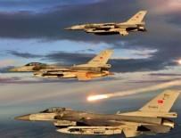 Hakkari ve Kuzey Irak'ta hava harekatı