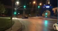 HALIÇ - İstanbul'da 'Makas' Ve 'Drift' Terörü Kamerada