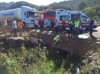 Karadeniz Sahil Yolunda Trafik Kazası Açıklaması 3 Ölü, 1 Ağır Yaralı