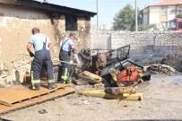 Karaman'da Kuru Otların Temizlenmesi İçin Yakılan Ateş Büyüyünce Korkuttu