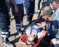 Kuyuda Kafasına Taş Düşerek Bayılan Şahsı, İtfaiye Ve AFAD Kurtardı
