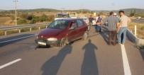 SÜRÜCÜ KURSU - Tavşanlı'da Trafik Kazası Açıklaması 2 Yaralı