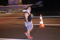 TUANA - TEM Otoyolunda Zincirleme Trafik Kazası Açıklaması 8 Yaralı