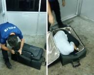 Valizden Kadın Çıktı
