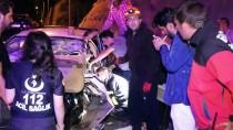 BOLU DAĞı - Anadolu Otoyolu'nda Zincirleme Trafik Kazası Açıklaması 6 Yaralı