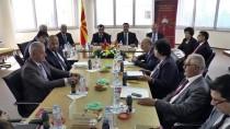 ANAYASA MAHKEMESİ - Anayasa Mahkemesi Başkanı Arslan Makedonya'da