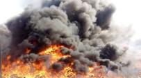 Ayvalık'ta Yangın Mahalleyi Duman Altında Bıraktı