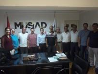 Başkan Ölçek'ten MÜSİAD'a Ziyaret