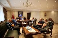 SENDİKA BAŞKANI - Belediye İş Sendikası'ndan Akın'a Ziyaret