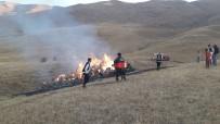 NARLıCA - Çatak'ta 700 Bağ Ot Kül Oldu