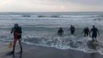 Denizde Kaybolan Genç İçin Arama Çalışmaları Devam Ediyor