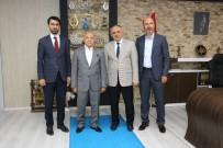 İSMAİL TAMER - İsmail Tamer'den Başkan Esat Öztürk'e Ziyaret