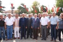 ATATÜRK ANITI - Küçükyoncalı'da Atatürk Anıtı Ve Kültür Evi Açılışı Gerçekleştirildi