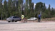 Kütahya'da İki Otomobil Çarpıştı Açıklaması 8 Yaralı