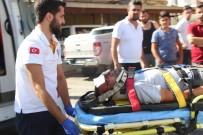 AŞIK VEYSEL - Manavgat'ta Trafik Kazası Açıklaması  1 Yaralı