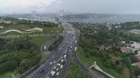 HAZıRLıK SıNıFı - Okula Uyumun İlk Gününde İstanbul'da Trafik Yoğunluğu