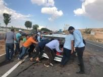 Şanlıurfa'da Trafik Kazası Açıklaması4 Yaralı