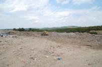 Saros'un Göbeğine Dökülen Çöpler Toplanıyor