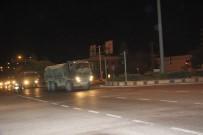 Suriye'ye Askeri Sevkıyat Sabaha Kadar Sürdü
