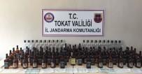 Tokat'ta Sahte İçki Bandrolleri Ele Geçirildi