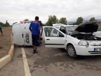Tokat'ta Trafik Kazası Açıklaması 1 Ölü, 3 Yaralı
