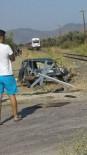 KAYAKÖY - Tren Kazasında Yaralanan Sürücü Hayatını Kaybetti