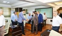 Vali Kalkancı Belediye Meclisi Üyeleri İle Bir Araya Geldi