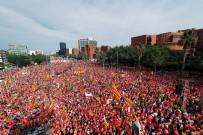 KATALONYA - 1 Milyon Katalan Sokaklarda