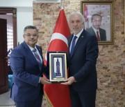 SELIM YAĞCı - AK Parti Yerel Yönetimler Başkan Yardımcısı Selim Yağcı'dan Vali Ve Belediye Başkanı'na Ziyaret