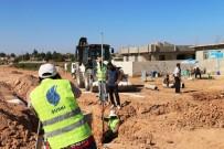 Akçakale'de Alt Yapı Çalışmaları Sürüyor