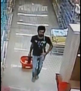 Antalya'da hırsıza suçüstü!