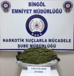 Bingöl'de 6,5 Kilo Esrar Ele Geçirildi