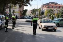 TRAFİK GÜVENLİĞİ - Bolu'da Emniyet Kemeri Uygulamasında Sürücülere Ceza Yağdı