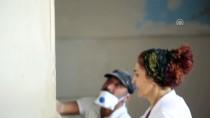 ELEKTRİK KABLOSU - Bu Okulun Sıvasından Boyasına Öğretmenler Yapıyor