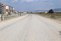 AHMET AKıN - Burhaniye'de Toplu Konut Bölgesine 21 Bin 700 Metre Kare Asfalt