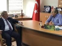 BASıN İLAN KURUMU - CHP Milletvekili Pekşen'den DAGC'ye Ziyaret