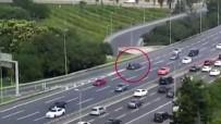 ÇENGELKÖY - E-5 Karayolu'nda Motosikletli Gencin Feci Ölümü Kamerada