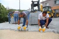 Erdemli Belediyesi'nde Parke Ve Yol Çalışmaları Sürüyor