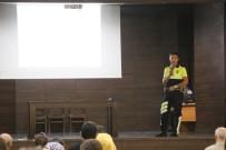 Gediz'de Öğretmenlere Trafik Eğitimi