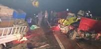 Giresun'da Trafik Kazası 2 Ölü,2 Yaralı