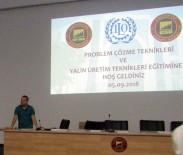 ULUSLARARASI ÇALIŞMA ÖRGÜTÜ - GSO-MEM'de  'Problem Çözme Teknikleri Ve Yalın Üretim Teknikleri Eğitimi' Gerçekleştirildi