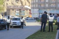 ZIRHLI ARAÇLAR - Hakkari'de 'Huzur Türkiye' Uygulaması