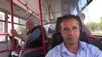 Halk Otobüsünde Rahatsızlanan Yolcuya Şoförden İlk Müdahale
