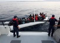 GABON - İzmir'de 52 Göçmen Yakalandı