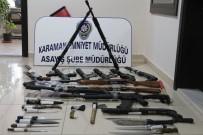 Karaman'da Asayiş Uygulaması Açıklaması 7 Tutuklama