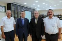 İSMAİL KARAKULLUKÇU - Kaymakam Yazıcı Ve Başkan Karakullukçu'dan, Başkan Dişli'ye Ziyaret