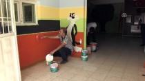 Okul Duvarlarını Resimlediler