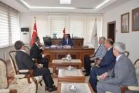 İL GENEL MECLİSİ - Özel Öğretim Kurumları Genel Müdürü Yıldız'dan Vali Nayir'e Ziyaret
