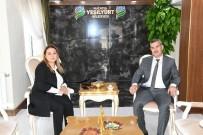 Rektör Karabulut, Teşekkür Ziyaretinde
